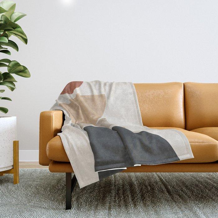 Geometric Modern Art 31 Throw Blanket
