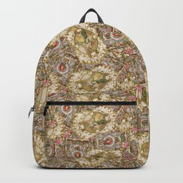 Rococo Frames Toss Backpack