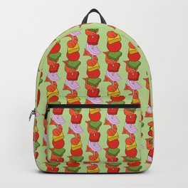 Grilled Veggies - BBQ Doodle Pattern Backpack