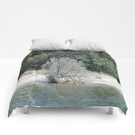 The Skeleton Tree on the Beach Comforters