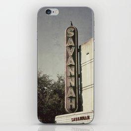Savannah iPhone Skin