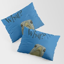 Turtle Says What? Pillow Sham