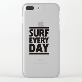 Surf Everyday Clear iPhone Case