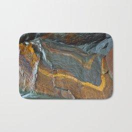 Abstract rock art Bath Mat