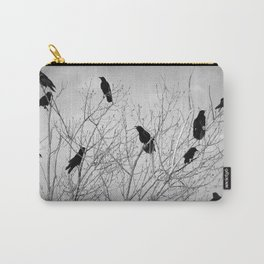 A Murder of Crows Carry-All Pouch