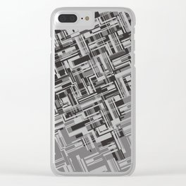 Geotetric Clear iPhone Case