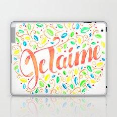JE TAIME 01 Laptop & iPad Skin