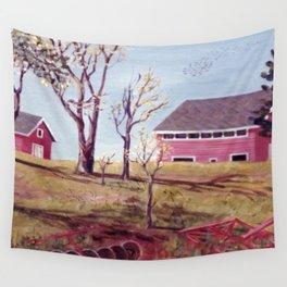 Evangeline  Trail, Nova Scotia             By Kay Lipton Wall Tapestry