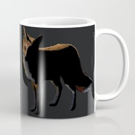 Fox in the Night Coffee Mug