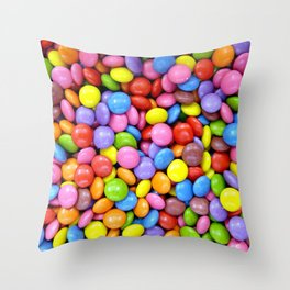 Smarties Throw Pillow