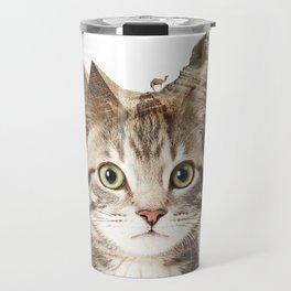 Giza Kittyscape Travel Mug