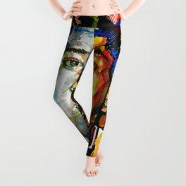 Basquiat Leggings