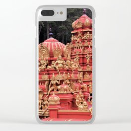 Indian Temple In Sri Lanka Clear iPhone Case