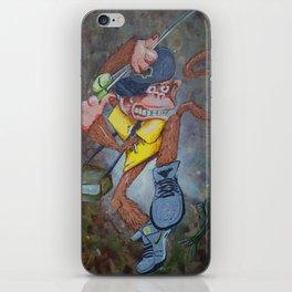 Fisherman Monkey iPhone Skin