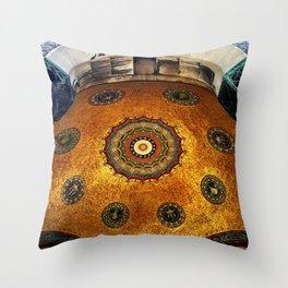 Gold Dome Throw Pillow