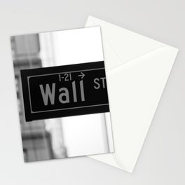 Wall St. Minimal - NYC Stationery Cards