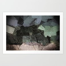Patchwork Abstract  Art Print