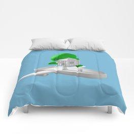 Tree House Boat Comforters