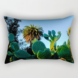 California Spikey Cactus Rectangular Pillow