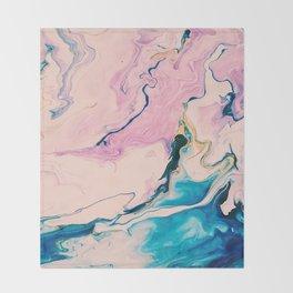 Ebb & Flow Marble Throw Blanket