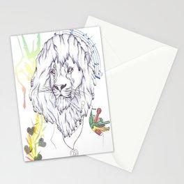 Rasta Lion Stationery Cards