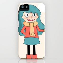 Hilda iPhone Case