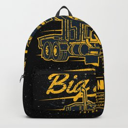 Iron Big Truck Backpack