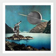 The Astronomer Art Print