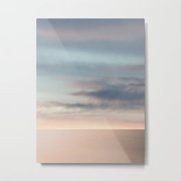 Somewhere. Sea & Sky scape abstract Metal Print