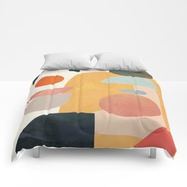 Modern Abstract Art 70 Comforters