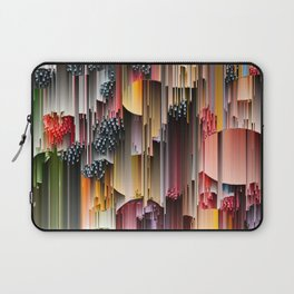 strawberries and berries abstract digital art Laptop Sleeve