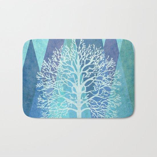 Winter Tree Bath Mat