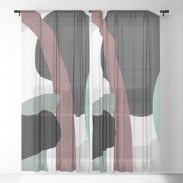 Floret Sheer Curtain
