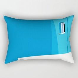 Postcards from Greece Rectangular Pillow