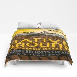 Vintage poster - Native Ground Comforters
