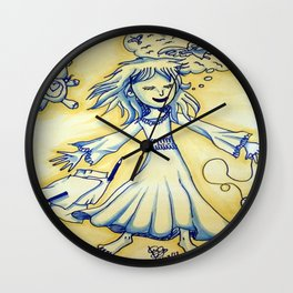 Dreaming Child Wall Clock