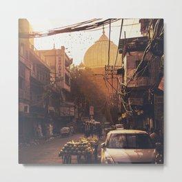 Old Delhi, India Metal Print