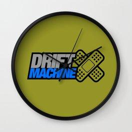 Drift Machine v6 HQvector Wall Clock