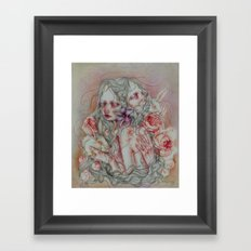 Lovely Skin Framed Art Print