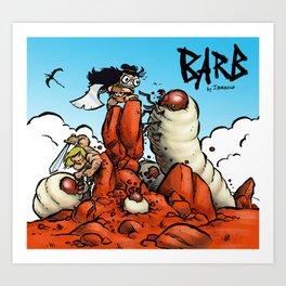 Battle of Grub Hill Art Print