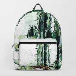 Cactus Long and a friend Backpack
