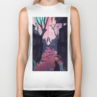 lovers Biker Tanks featuring Lovers by youcoucou