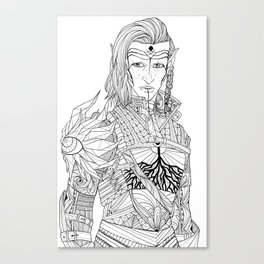 Inquisitor  Canvas Print