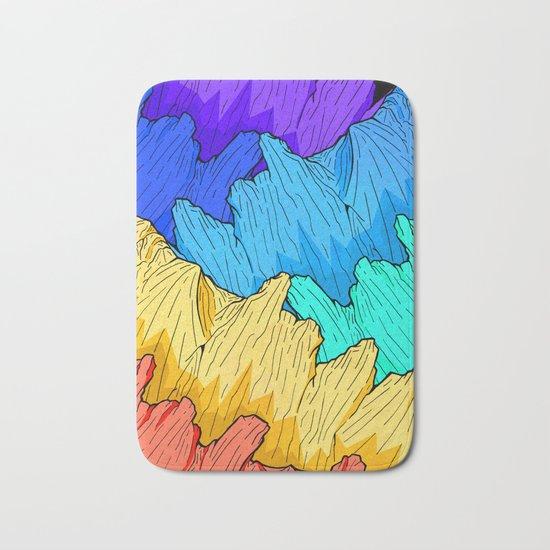 Rainbow Mounts Bath Mat