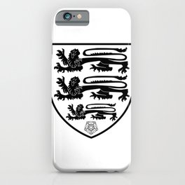 British Three Lions Crest iPhone Case