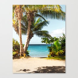 Ocean Travel Tropical Beach Canvas Print