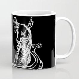 Norse Myth Frigg and Odin Sailing In Fensalir Coffee Mug
