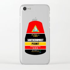 Southern Most Point, Key West, Florida/サザン・モスト・ポイント Clear iPhone Case