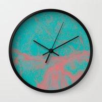 underwater Wall Clocks featuring underwater by JG-DESIGN