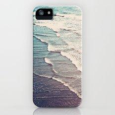 Ocean Waves Retro iPhone (5, 5s) Slim Case